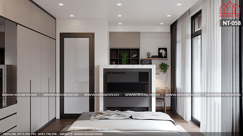 Không gian phòng ngủ đẹp và hợp phong thủy chỉ cần ngắm nhìn là bất cứ ai cũng muốn thiết kế ngay cho mình.