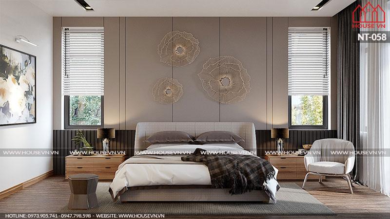 Phòng ngủ có cách sắp xếp bày trí đồ nội thất khoa học đầy đủ tiện nghi thực sự là chốn nghỉ ngơi lý tưởng