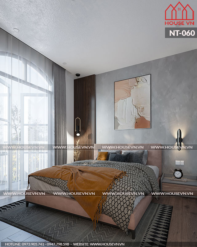 Thêm một gợi ý thiết kế nội thất phòng ngủ cao cấp sang trọng được Chủ đầu tư hài lòng