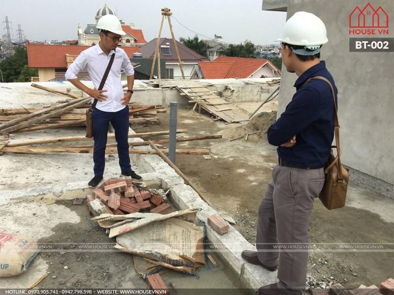 Xay biet thu tron goi 3 tang Hai Phong